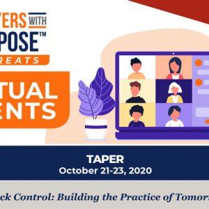 TAPER Virtual Event